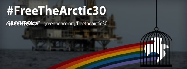 Solidarity for the Arctic 30