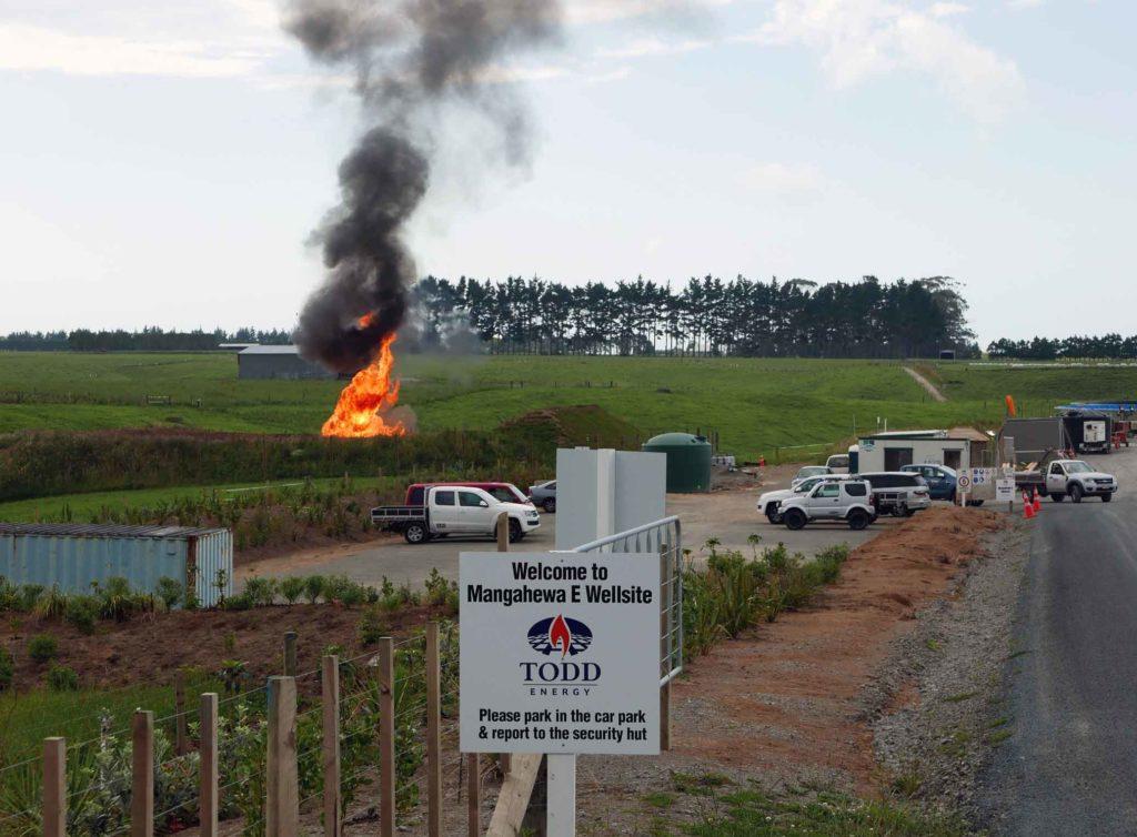 Taranaki Fracking Site